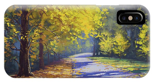 Nature Scene iPhone Case - Mt Wilson Gold by Graham Gercken