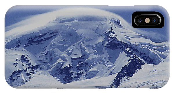 IPhone Case featuring the photograph Mt201cloudcap Over Mt. Baker Wa by Ed Cooper Photography