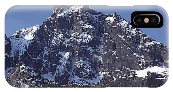 IPhone Case featuring the photograph Mt207 North Face Lincoln Peak Wa by Ed Cooper Photography