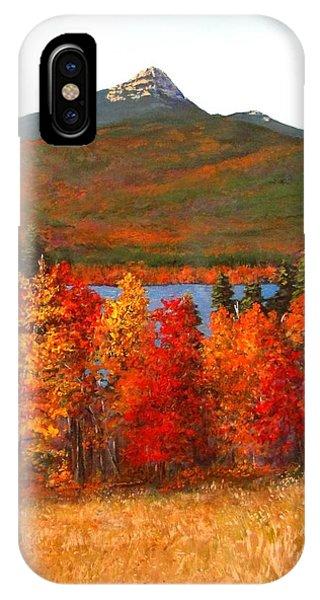 Mt.chocorua IPhone Case