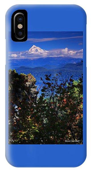 Mt.hood N Fall IPhone Case