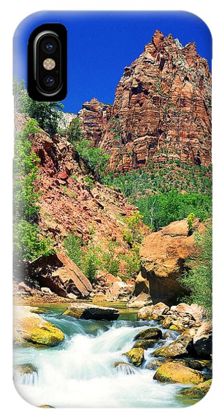 Mt.moroni / Virgin River IPhone Case