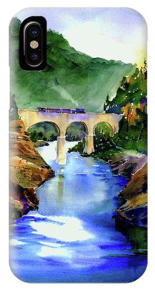 Mtn Quarries Rr Bridge IPhone Case