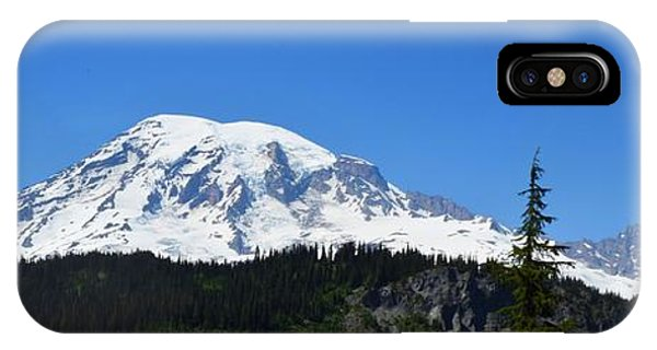 Mt.rainier IPhone Case