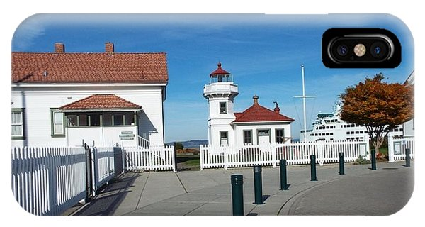Muckilteo Lighthouse IPhone Case