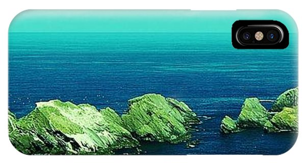 IPhone Case featuring the photograph Muckle Flugga Lighthouse by HweeYen Ong