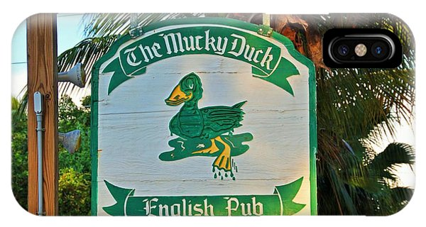 Mucky Duck I IPhone Case