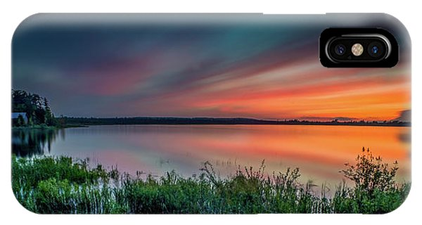Mud Bay Sunset 4 IPhone Case