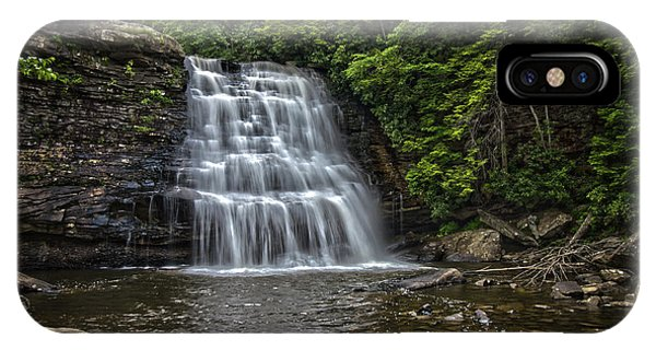 Muddy Creek Falls IPhone Case