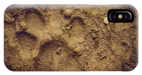 Muddy Pup IPhone Case