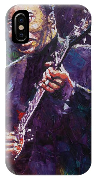 Legends Music iPhone Case - Muddy Waters 4 by Yuriy Shevchuk