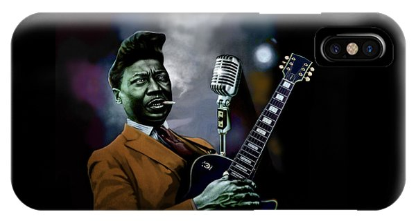 Eric Clapton iPhone Case - Muddy Waters - Mick Jagger's Grandfather by Dan Haraga
