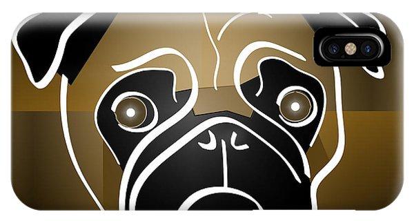 Mug Of A Pug IPhone Case