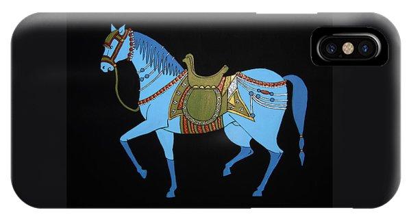 Mughal Horse IPhone Case