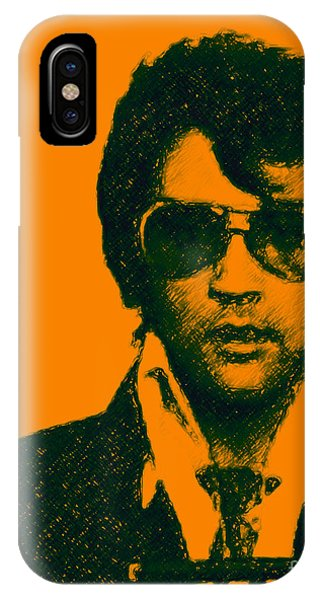 Mugshot Elvis Presley IPhone Case