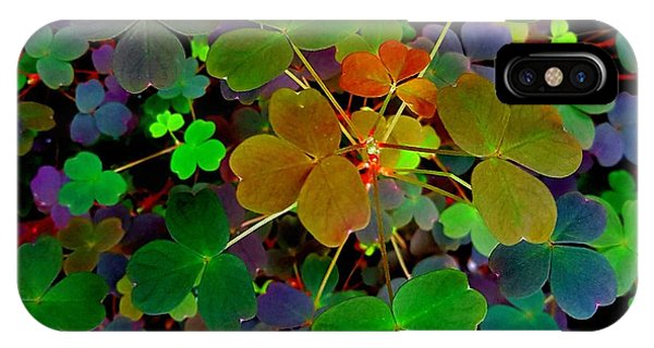 Multi-coloured Leaves IPhone Case