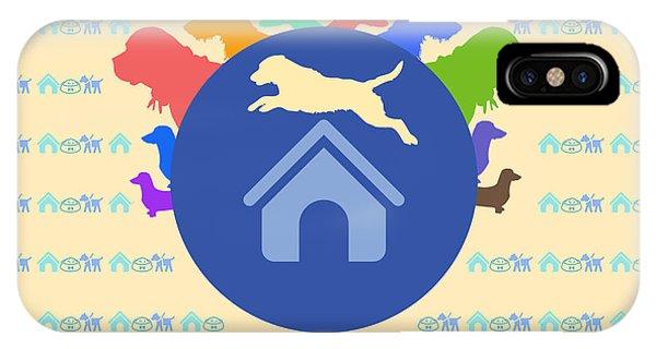 Multicolor Dog  IPhone Case