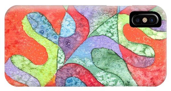 Multicolor Oak Leaf IPhone Case