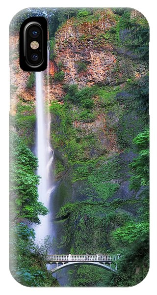 Multnomah Falls Portland Oregon IPhone Case
