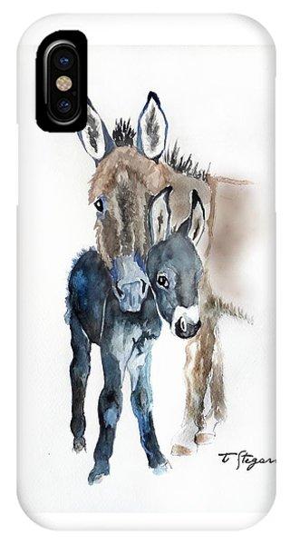 Mummy Donkey IPhone Case