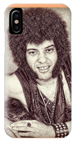 Mungo Jerry Portrait - Drawing IPhone Case