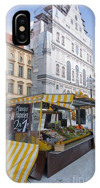 Munich Fruit Seller IPhone Case