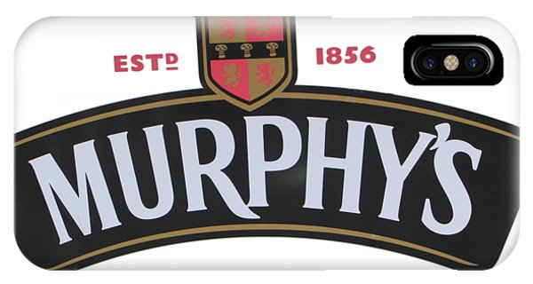 Irish iPhone Case - Murphys Irish Stout by Ericamaxine Price