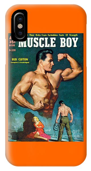 Muscle Boy IPhone Case
