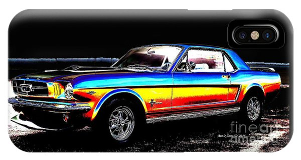 Muscle Car Mustang IPhone Case