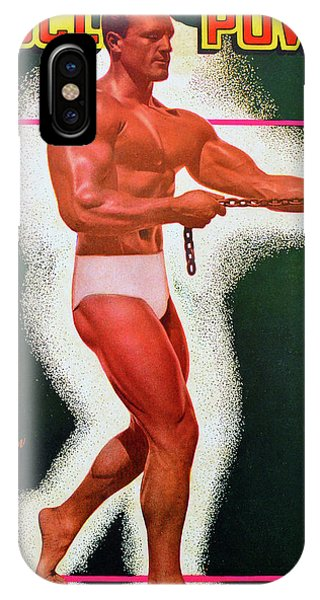 iPhone Case - Muscle Power Mag February 1948 by David Lee Thompson