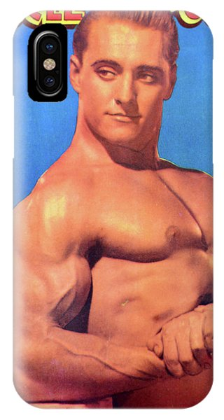 iPhone Case - Muscle Power Mag Nov 1947 by David Lee Thompson