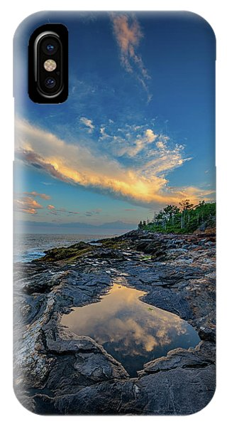 Muscongus Bay Reflections IPhone Case