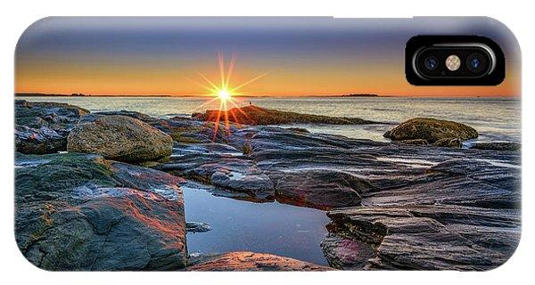 Muscongus Bay Sunrise IPhone Case