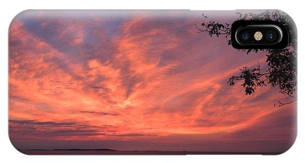 Muscongus Sound Sunrise IPhone Case