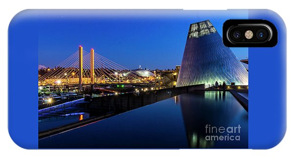 Museum Of Glass At Blue Hour IPhone Case
