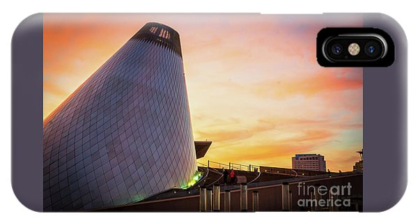 Museum Of Glass Tower#2 IPhone Case