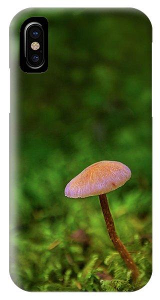 Mushflower IPhone Case