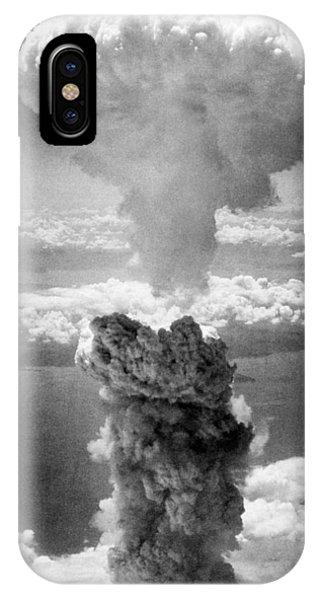 Mushroom Cloud Over Nagasaki  IPhone Case