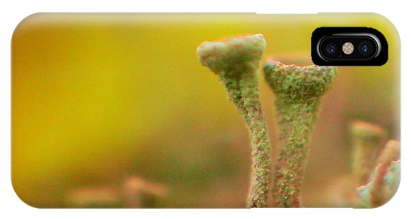 Little Things iPhone Case - Mushroom World by Jeff Swan