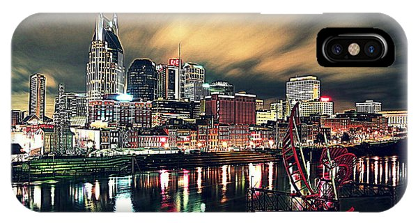 Music City Midnight IPhone Case