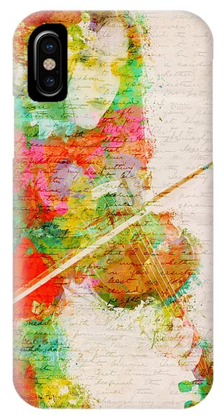 IPhone Case featuring the digital art Music In My Soul by Nikki Smith