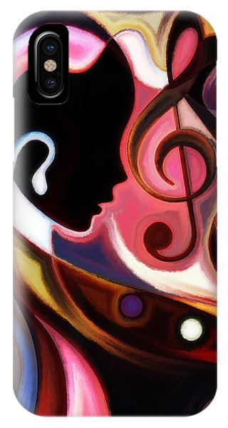 Music In The Air IPhone Case