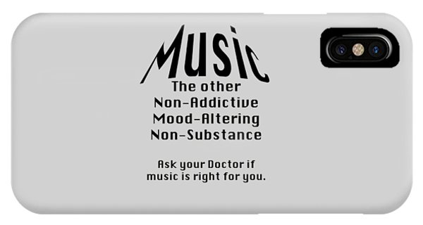 Music Is Right For You 5502.02 IPhone Case