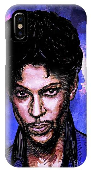 Music Legend  Prince IPhone Case