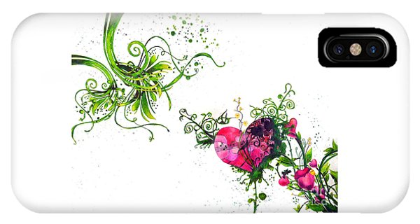 Music Of The Heart IPhone Case