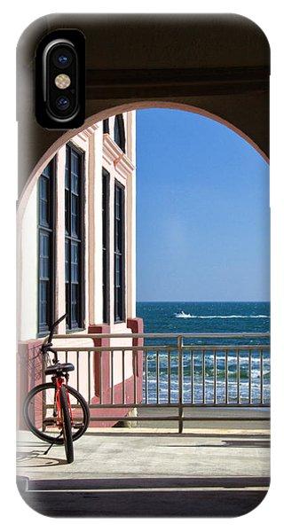 Music Pier Doorway View IPhone Case