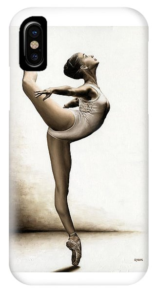 Dance iPhone Case - Musing Dancer by Richard Young
