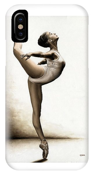 Musing Dancer IPhone Case