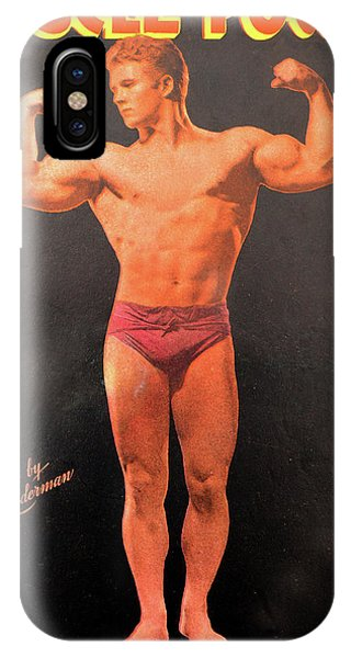 iPhone Case - Muscle Power Mag Aug 1947 by David Lee Thompson