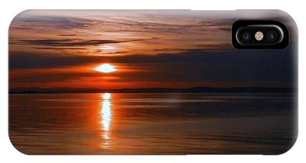 Musselburgh Sunset Phone Case by Nik Watt